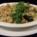 Thai Fried Rice using brown rice