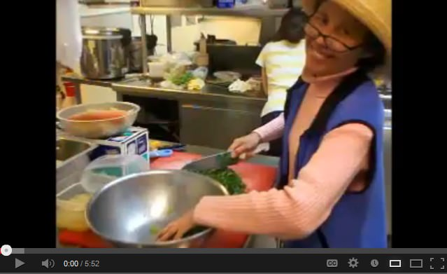 asian kale salad by chef pearl pardee